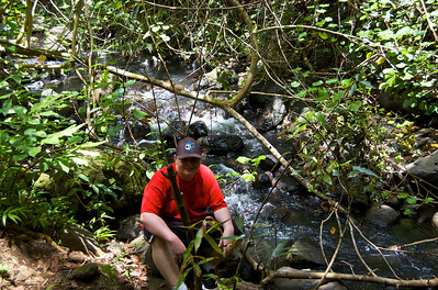 Maunawili Falls Trail - My Parent's Visit '10  My Brother Nate