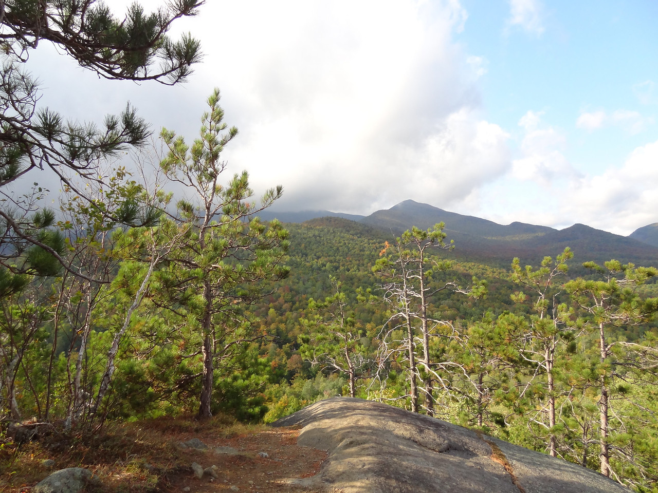 The outcroppings and views were almost identical to any high peak.