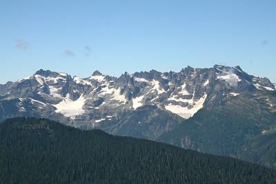 Monte Cristo Peaks.