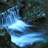 small waterfall in LeConte Creek