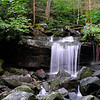 a nice waterfall below Rainbow Falls - when you see this one you will know you are almost there