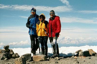 Summit of Adams.