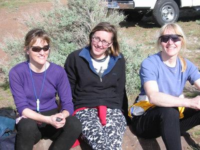 Marla, Mimi, Mary, at Vantage.
