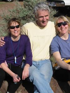 Marla, Jack, Mary, at Vantage.