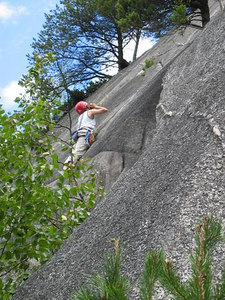This is the climb next to Klahanie Crack. 5.8?