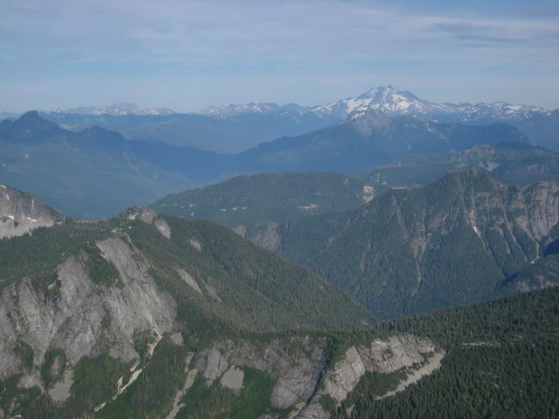 Looking East towards Glacier Peak