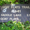 why would someone use the trailhead's sign for target practice??