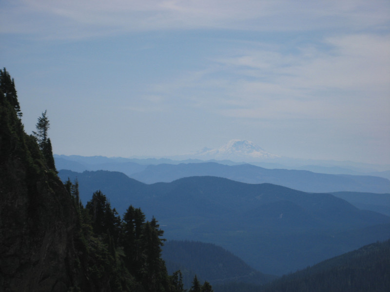 A view towards Mt Rainier we enjoyed
