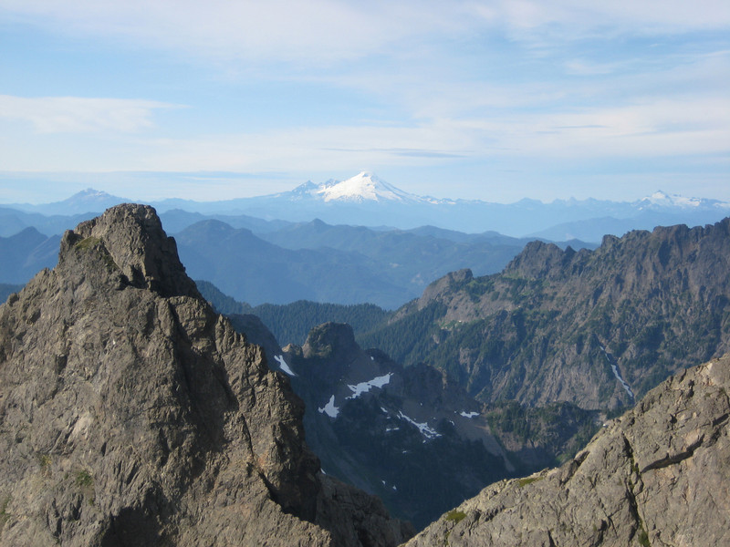 Looking North, Mt Baker