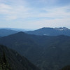 Looking South, broad mountain with the snow specks at horizon is Mt Pilchuck