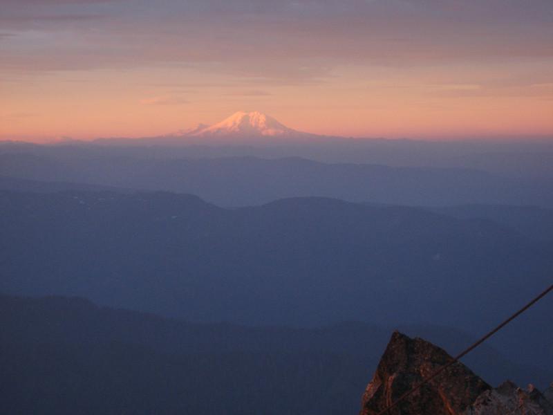 New day also on Mt Rainier