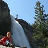 Devin and Nevada Falls.