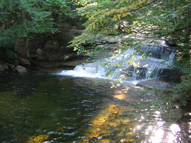 A super swimming hole on Smarts Brook