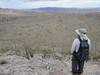 Overlooking the Carrizo Badlands.