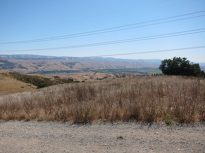 Here's looking towards the south valley--the most southerly part of San Jose and on to Morgan Hill.