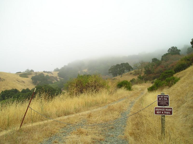 """Not a trail."" Too bad; it looks like a pleasant hike."