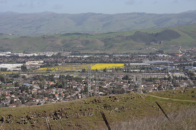San Jose from near Vista Loop trail.