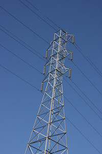 Electric tower.