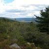 View of the Bashakill from the Wurtsboro Ridge.