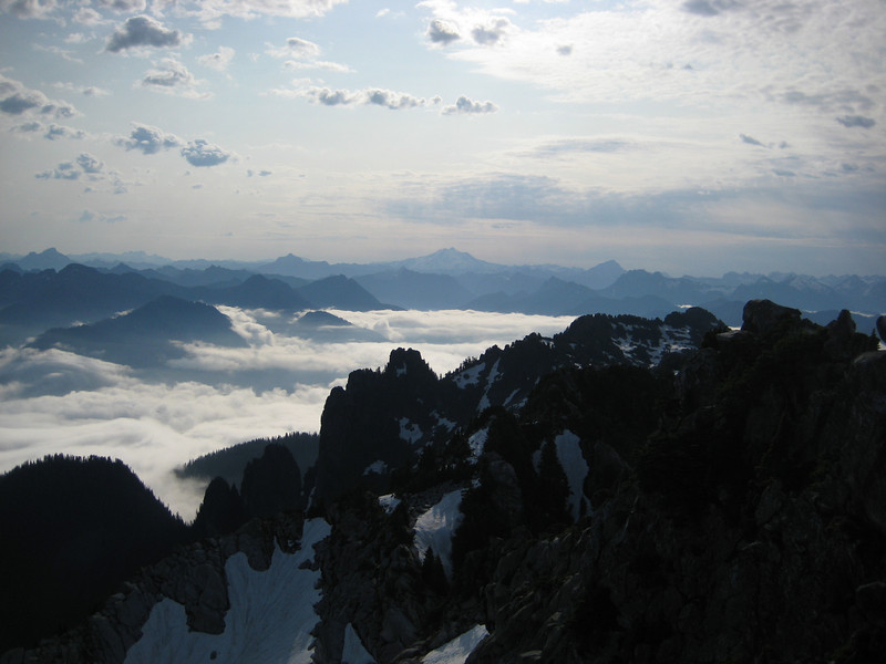 Glacier Peak in the East