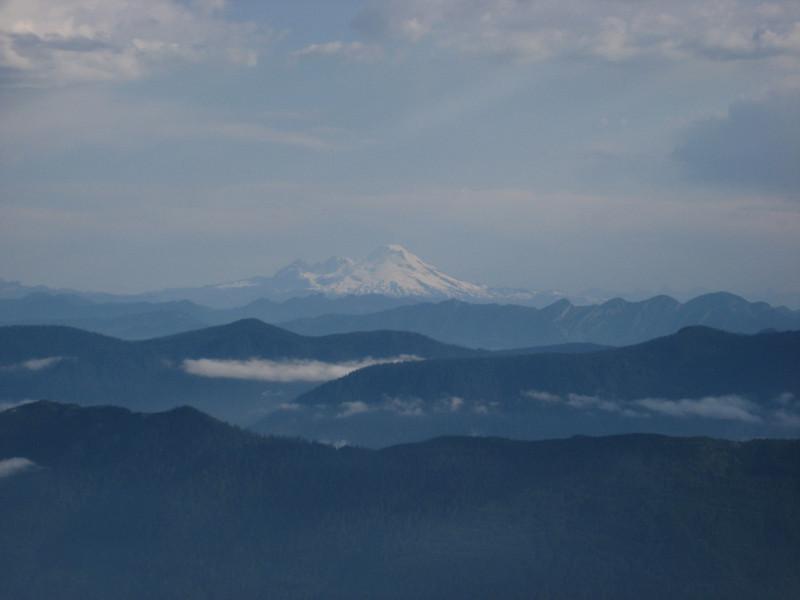 Mt Baker in morning light