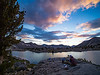 Upper Dusy Basin Sunset