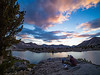 Upper Dusy Basin Sunset