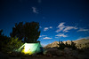 Camp at Night - Upper Dusy