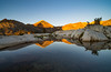 Red Slate Mountain Reflection