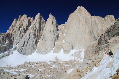 Mount Whitney Loop, Mountaineers Route To The Main Trail, May 2012