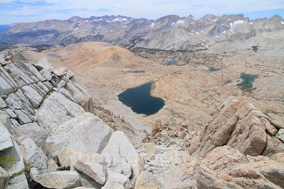 Onion Valley To Whitney Portal, July 2012: Mt. Gould, Caltech Peak, Mt. Muir, Mt. Whitney