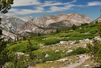 Onion Valley to the John Muir Trail, July 2016