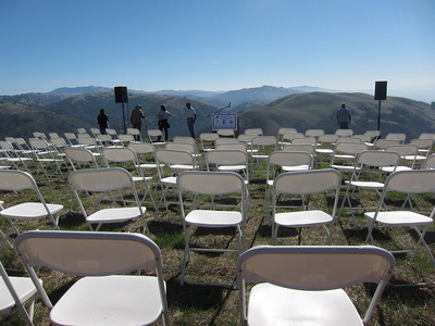 Event seating--empty.