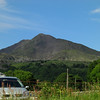 Moel Siabod seen from Dolgam campsite (photo by Celia)