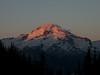 Sunrise on Day 5 from Image Lake camp.