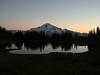 Sunset and Image Lake.