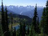 Image Lake and the upper Suiattle River Valley.