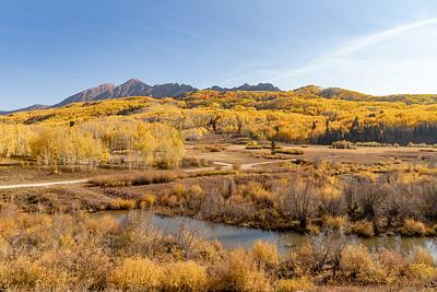 View from Cliff Creek Trailhead