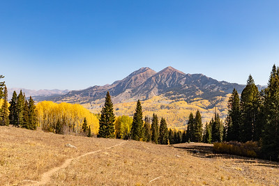 Ruby Mtn Right, Mt Owen Left 13,058 Ft (climbed in 2011)
