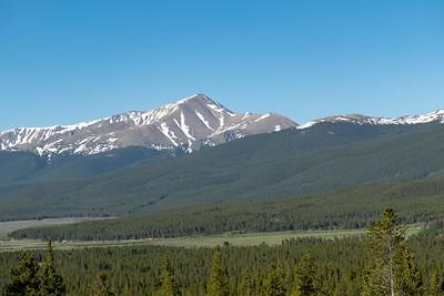 Mt Elbert (climbed in 2012, highest in Colorado)