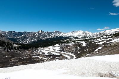 Still Snowy around Cottonwood Pass