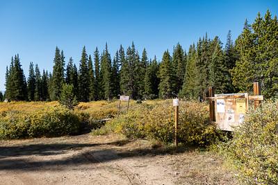 St Kevin & Bear Lakes Trailhead