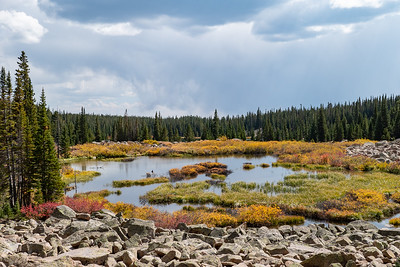 Unnamed Lake and Fall Color