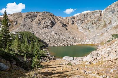 St Kevin Lake at 11,800 Ft