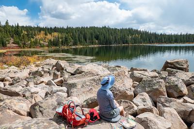 Lunch at Bear Lake, 11,100 Ft