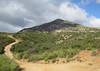 Tecate Peak comes into view.