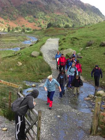 Scafell Pike: The 1st Anniversary Wendy Cronin Memorial Mountain Walk