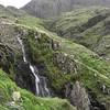 Waterfall further down Ruddy Gill