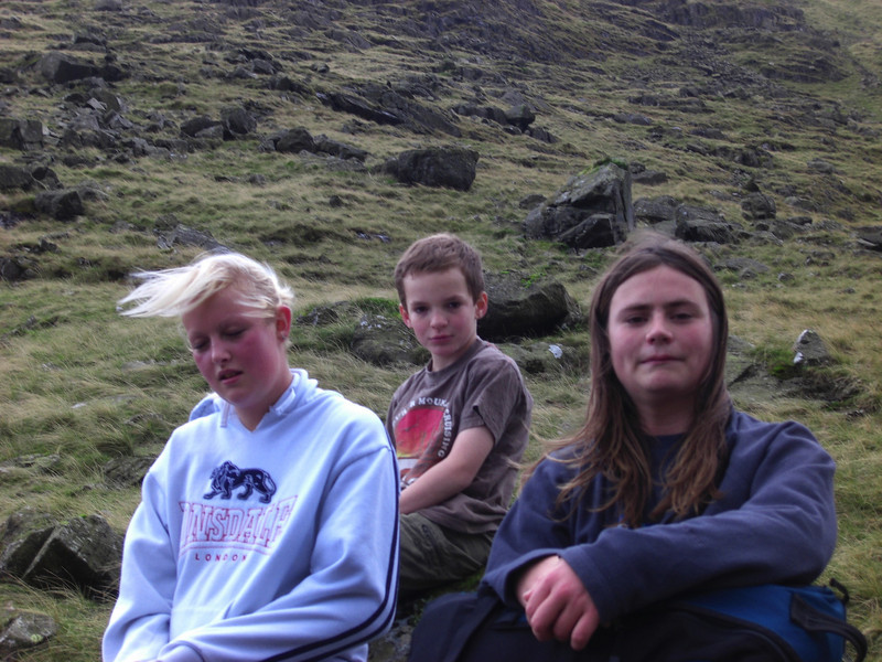 Bess, Harvey and Sam take a breather