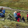 The group a little below Styhead Tarn